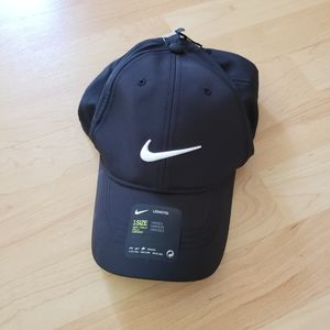 Nike Black Adjustable Running Hat Cap
